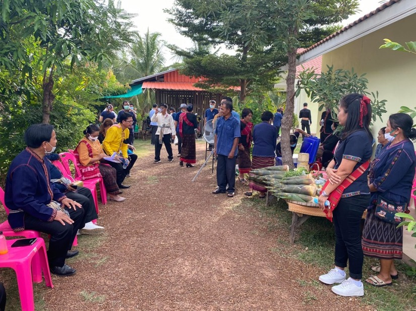 Officers from Department of Social Development, Kalasin Province