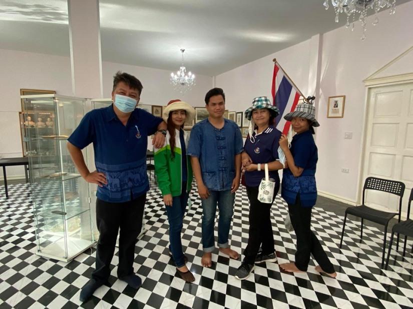 Civil servants from Department of Social Development, Kalasin Province